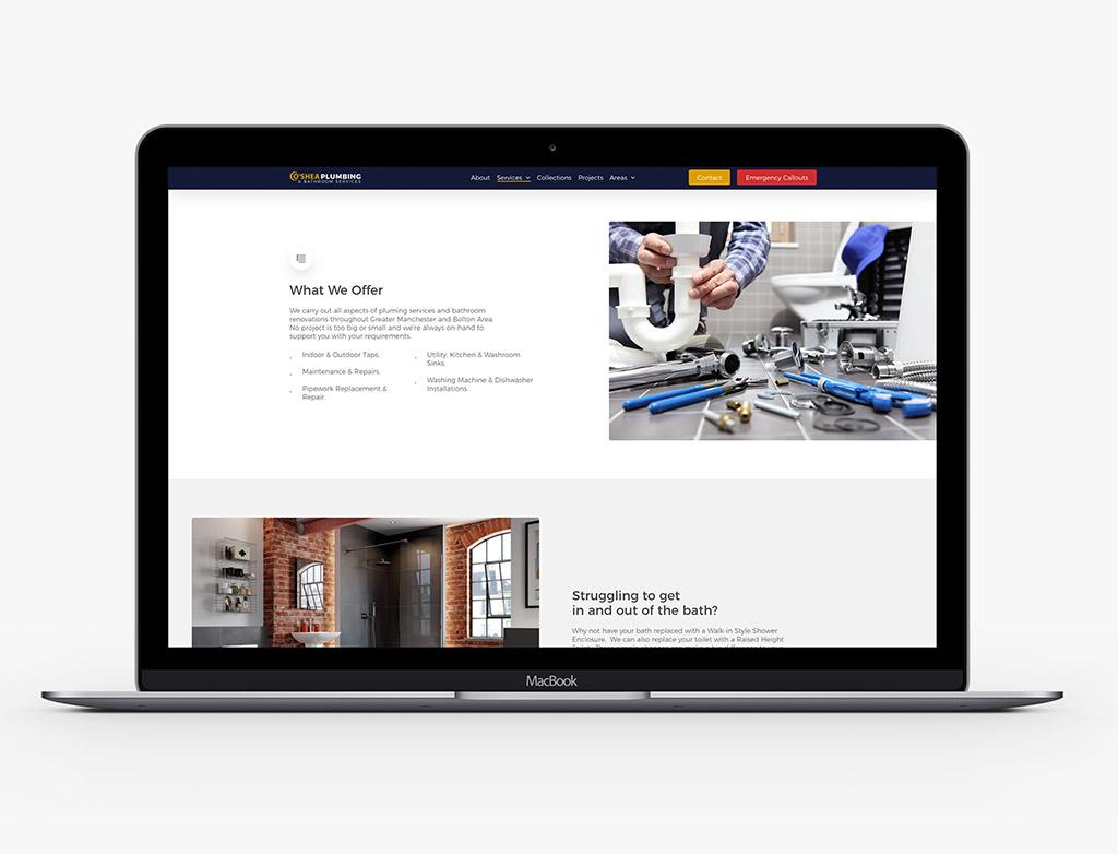 Oshea Web Design Agency Chorley 4