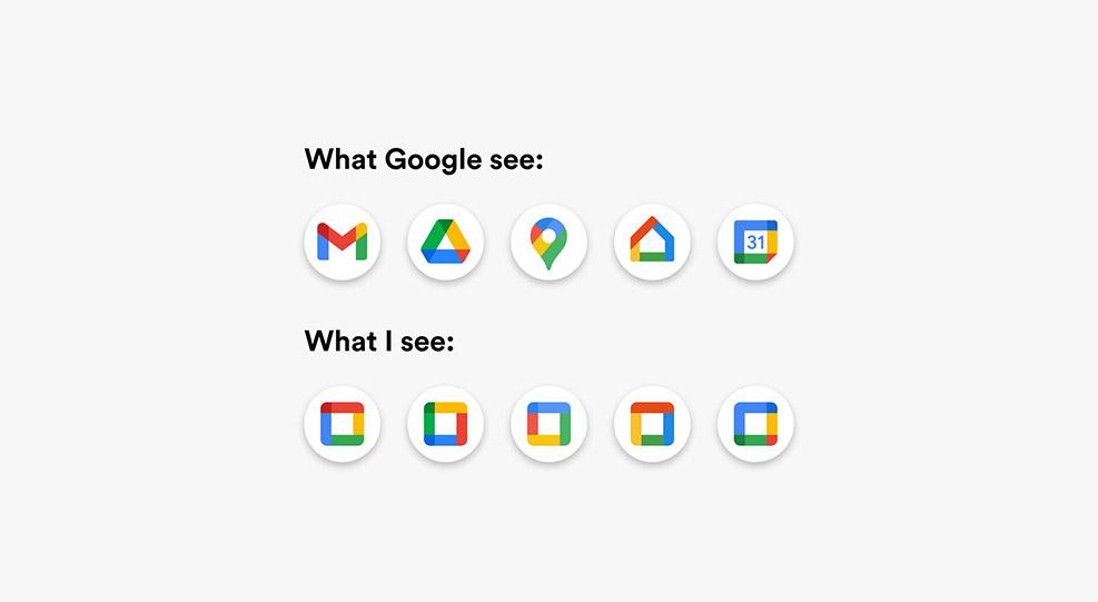 Google iconography