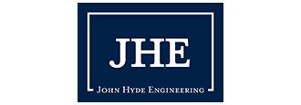JHE John Hyde Engineering Logo