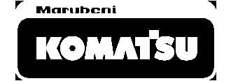 Marubeni Komatsu logo white