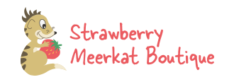 Strawberry Meerkat Boutique logo