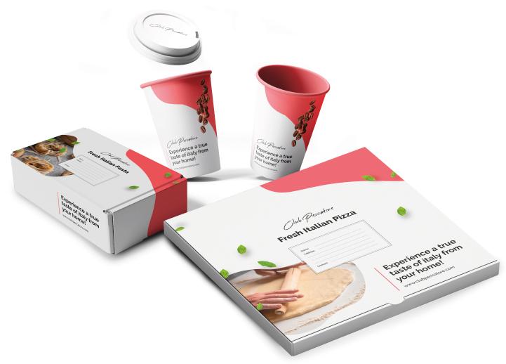 Packaging mockup